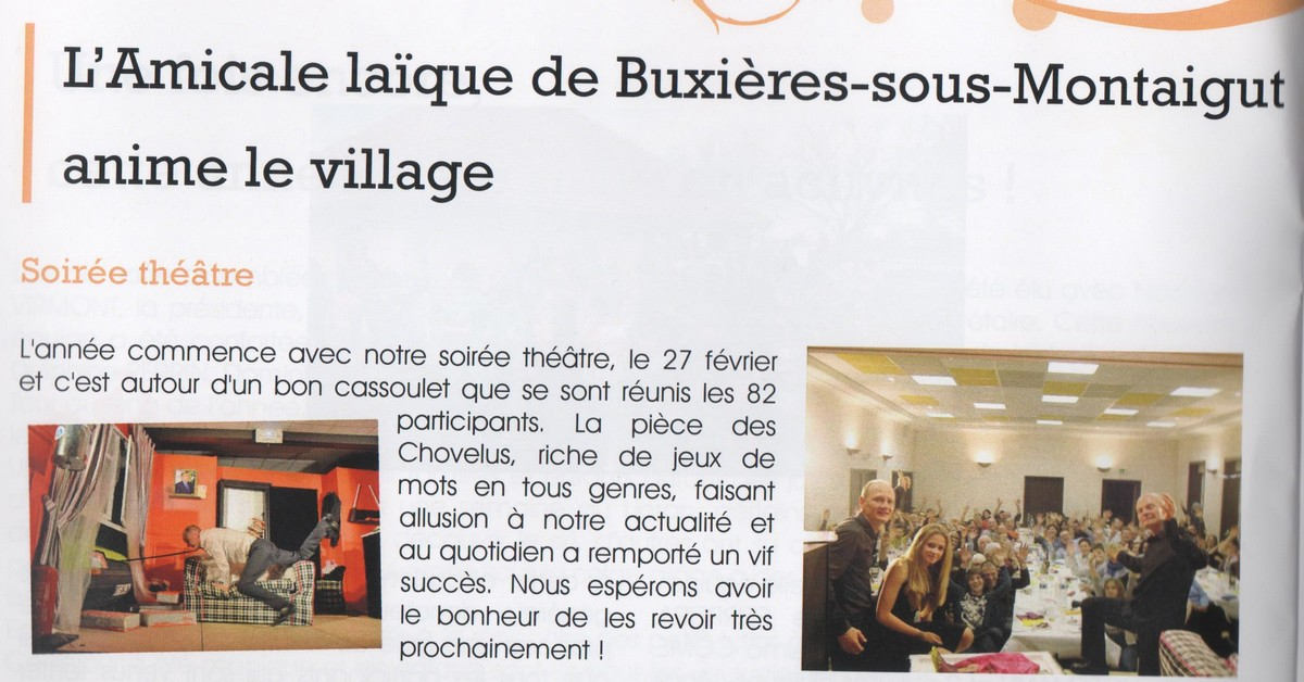 bussiere communal 2016